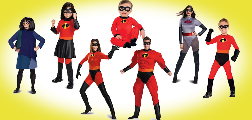 Make It A Family Affair In These Incredibles Costumes