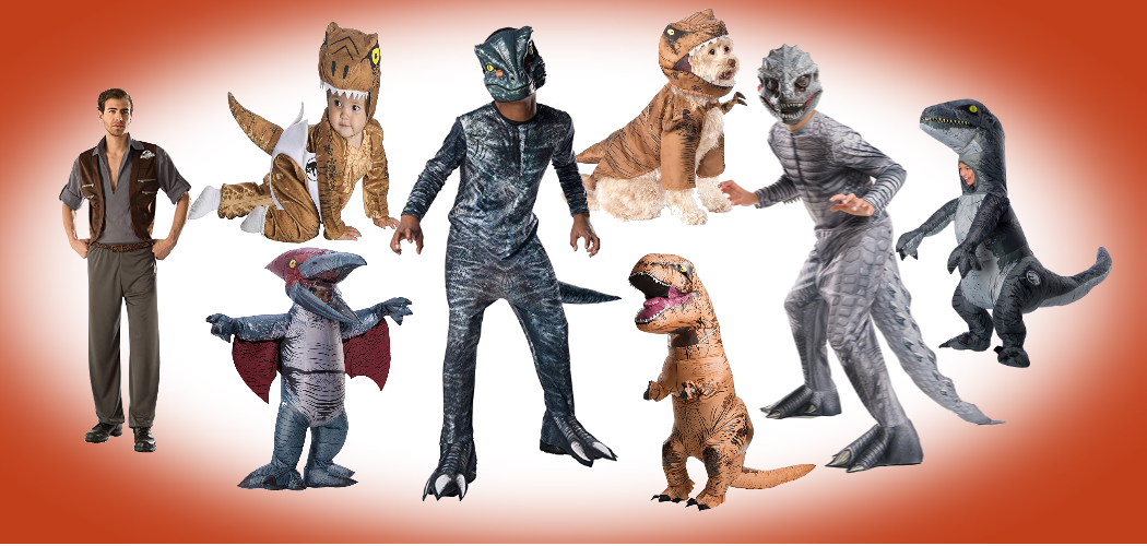 Are You A Dinosaur Lover? Then Jurassic World Costumes Are Waiting For You