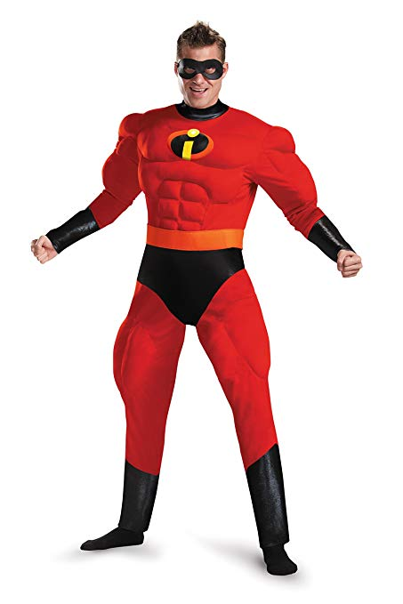 Mr. Incredible red and black incredibles costumes