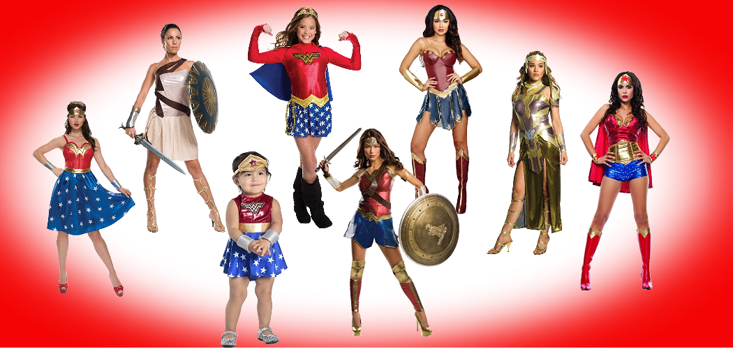 Show Grace And Fearlessness In Any Wonder Woman Costume