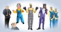 Halloween despicable me minion costumes
