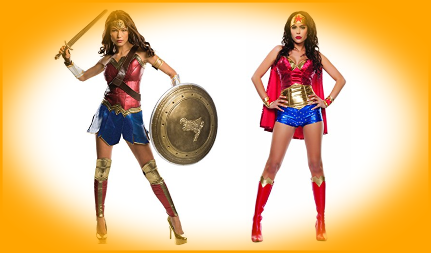 Wonder Woman Halloween Costumes for women