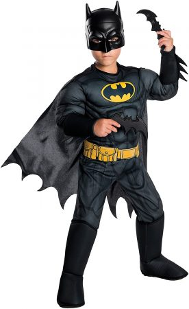 Batman boys superhero costume